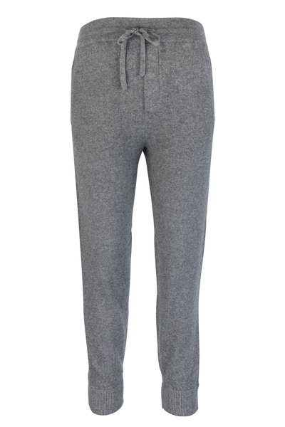 Vince - Gray Wool & Cashmere Jogger