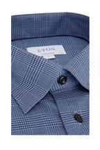 Eton - Navy Blue Glen Plaid Contemporary Fit Sport Shirt