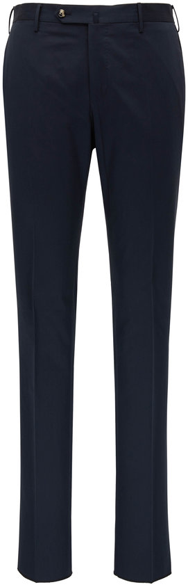 PT Torino Navy Blue Slim Fit Pant