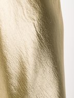 Vince - Pale Gold Metallic Tank Dress