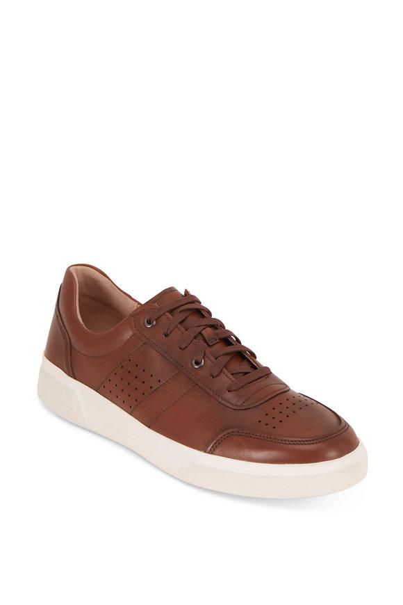Vince Barnett Luggage Leather Sneaker