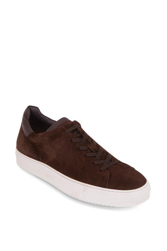 To Boot New York Desmond Dark Brown Suede Sneaker