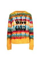 The Elder Statesman - Wacky Wild Card Flower Power Cashmere Sweater