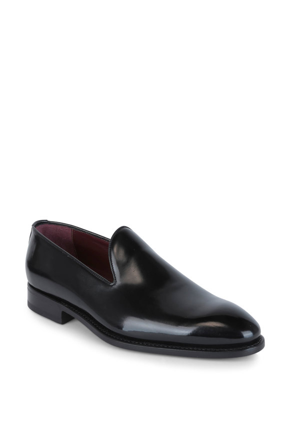 Bontoni Concerto Black Leather Loafer