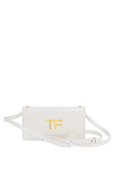 Tom Ford - TF Chalk Silk Leather Mini Crossbody