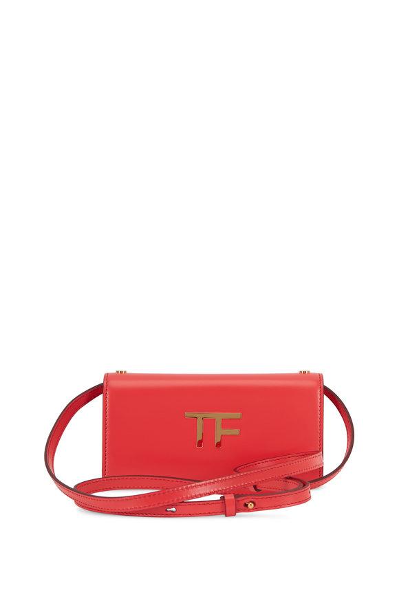 Tom Ford TF Roche Silk Leather Mini Crossbody