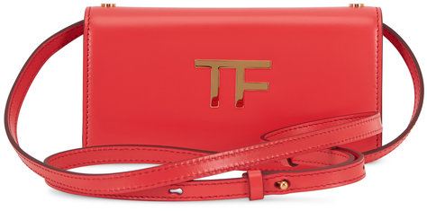Tom Ford TF Roche Silk Leather Mini Crossbody