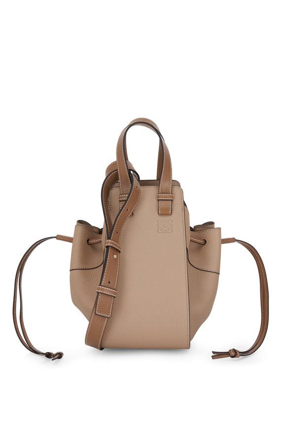 Loewe Hammock Sand Mink Leather Small Bag