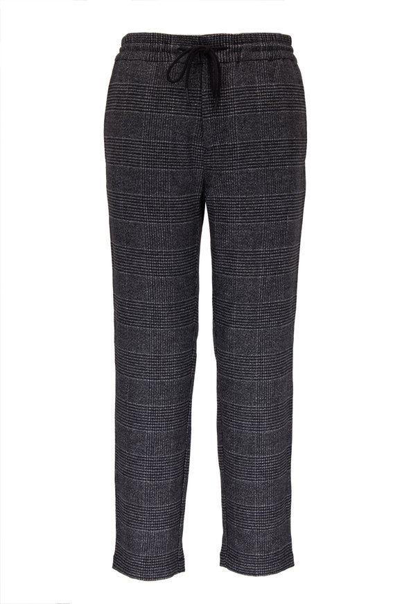 Damon Dark Heather Gray Drawstring Pant
