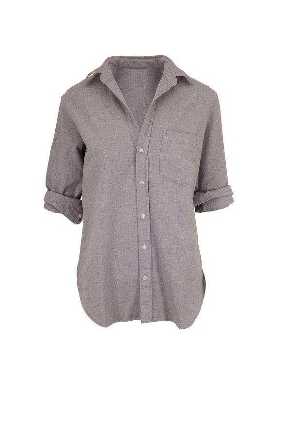 Frank & Eileen Joedy Gray Polar Flannel Button Down Shirt