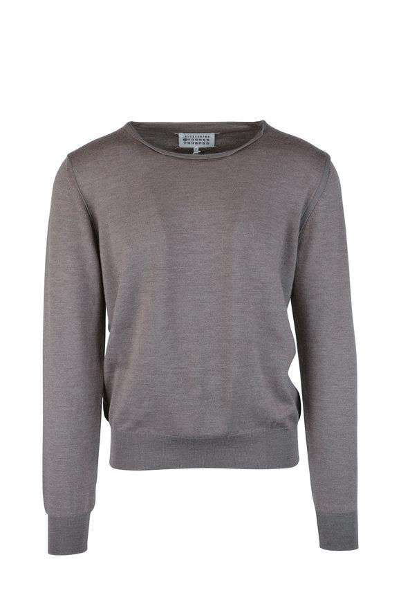 Maison Margiela Walnut Wool Blend Sweater