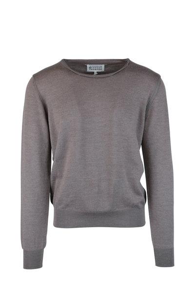 Maison Margiela - Walnut Wool Blend Sweater