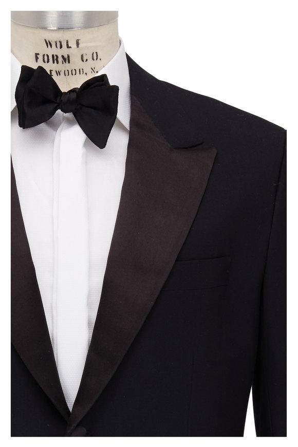 Kiton Black Cashmere Tuxedo