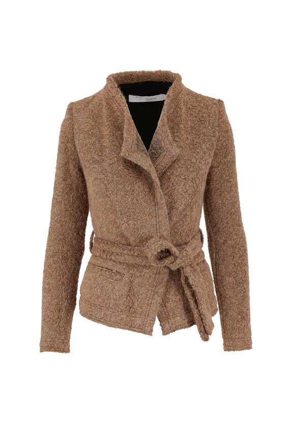 Iquitos Light Brown Belted Jacket