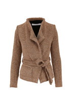 IRO - Iquitos Light Brown Belted Jacket