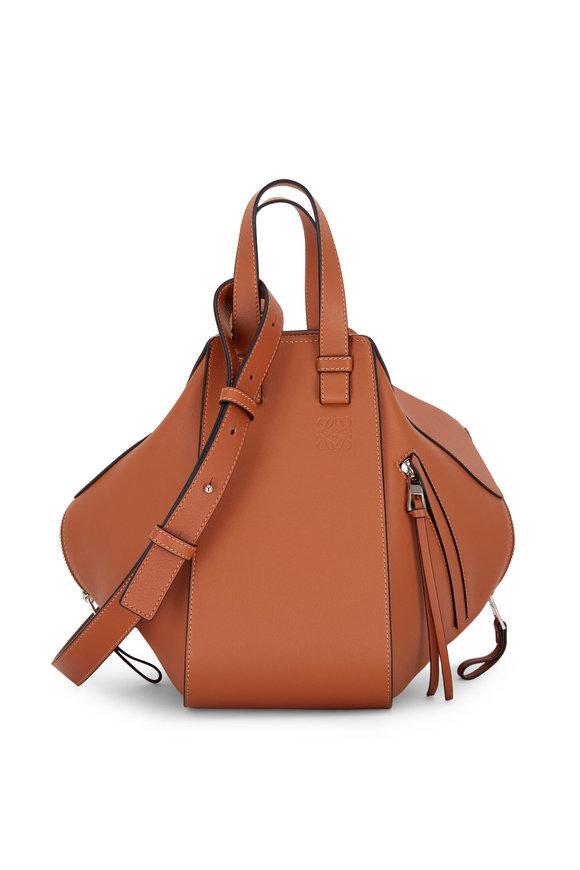 Loewe Hammock Tan Leather Small Satchel Bag