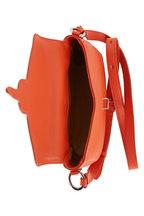 Tod's - Joy Orange Pebbled Leather Crossbody Bag