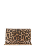 Judith Leiber Couture - Fizzoni Leopard Crystal Clutch