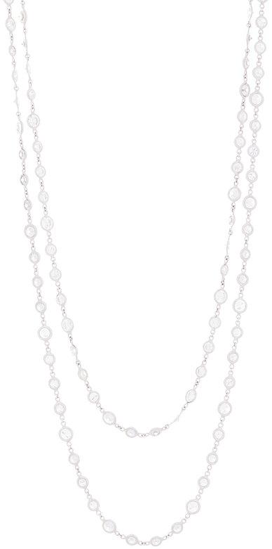 Kwiat 18K White Gold Diamond Chain