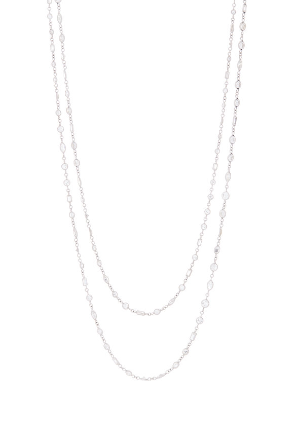 Lowy & Co Diamond By The Yard Necklace