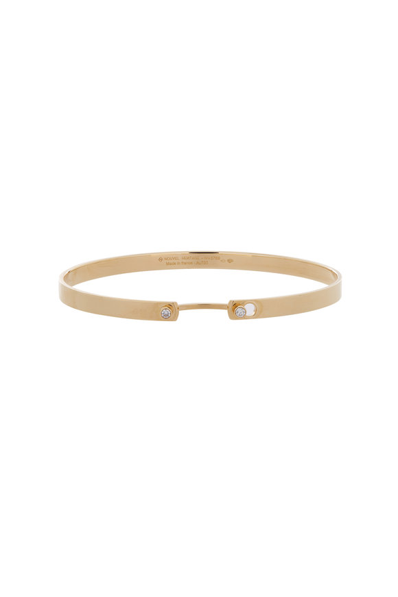 Nouvel Heritage 18K Yellow Gold Mood Monday Morning Bangle