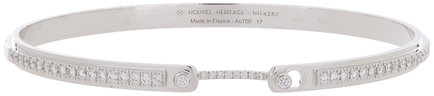 Nouvel Heritage 18K White Gold Mood Diamond Bangle
