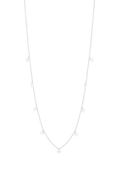 Paul Morelli - Platinum Floating Diamond Necklace