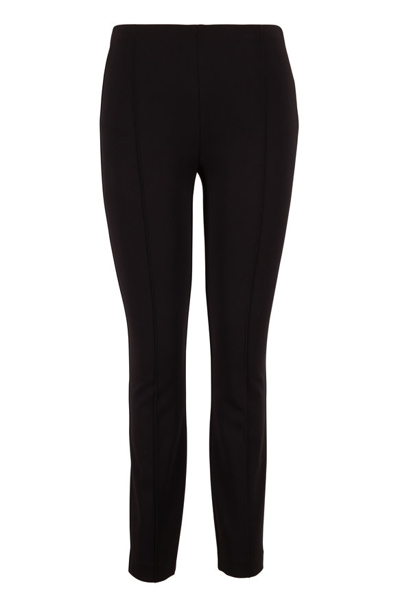 The Row Cosso Black Side Zip Pant
