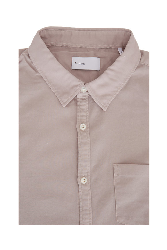 BLDWN Flint Gray Cotton Sport Shirt
