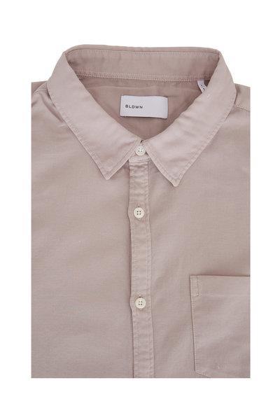 BLDWN - Flint Gray Cotton Sport Shirt