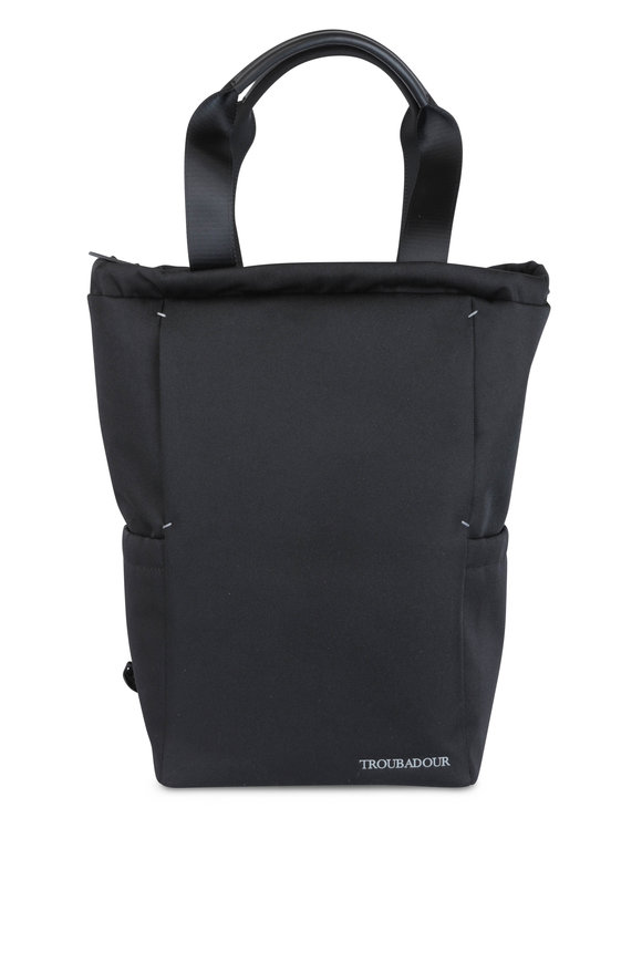 Troubadour Explorer Black Nylon Rucksack
