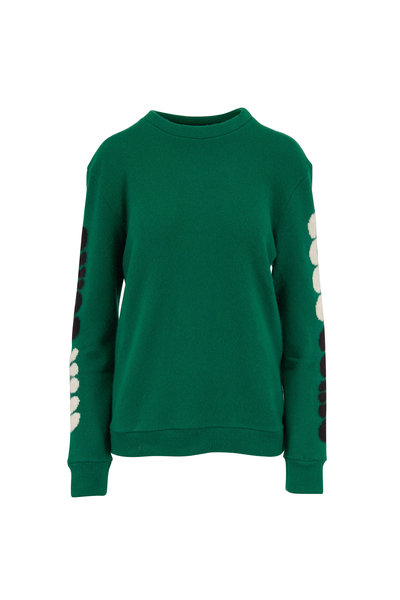 The Elder Statesman - Win Some Kelly Green Cashmere Sweater
