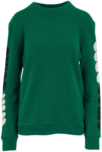 The Elder Statesman Win Some Kelly Green Cashmere Sweater