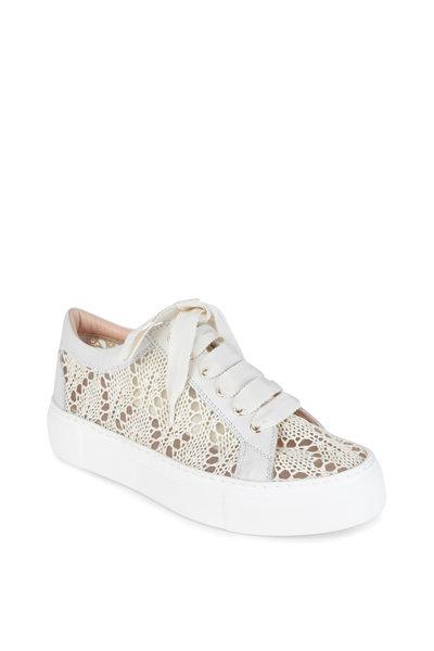 AGL - Off-White Crochet Sneaker