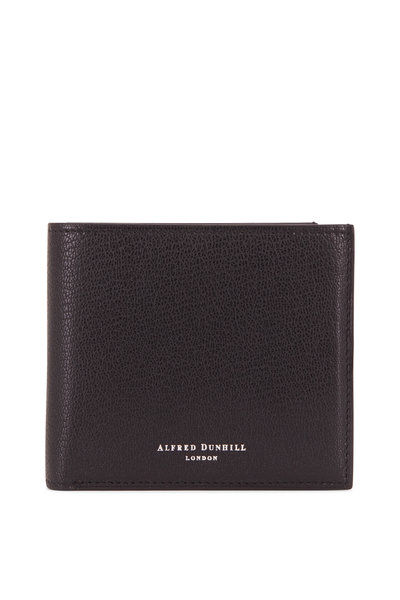 Dunhill - Duke 8CC Black Grained Leather Billfold