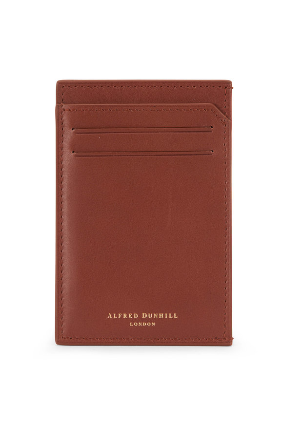 Dunhill Duke Tan Leather Card Case