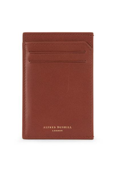 Dunhill - Duke Tan Leather Card Case