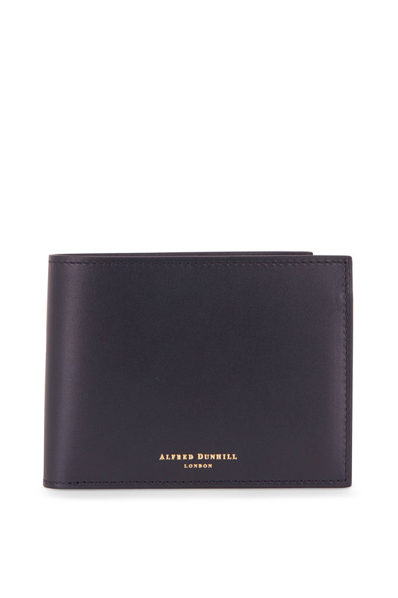 Dunhill Duke Ink Blue Leather Billfold