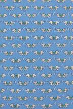 Salvatore Ferragamo - Light Blue Elephant Silk Necktie