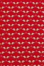 Salvatore Ferragamo - Red Elephant Silk Necktie