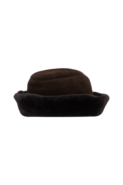 Viktoria Stass - Brown Shearling Hat