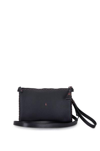 Henry Beguelin - Sara Black Cervo Leather Small Bag