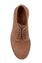 Brunello Cucinelli - Dark Beige Suede Buck Shoe