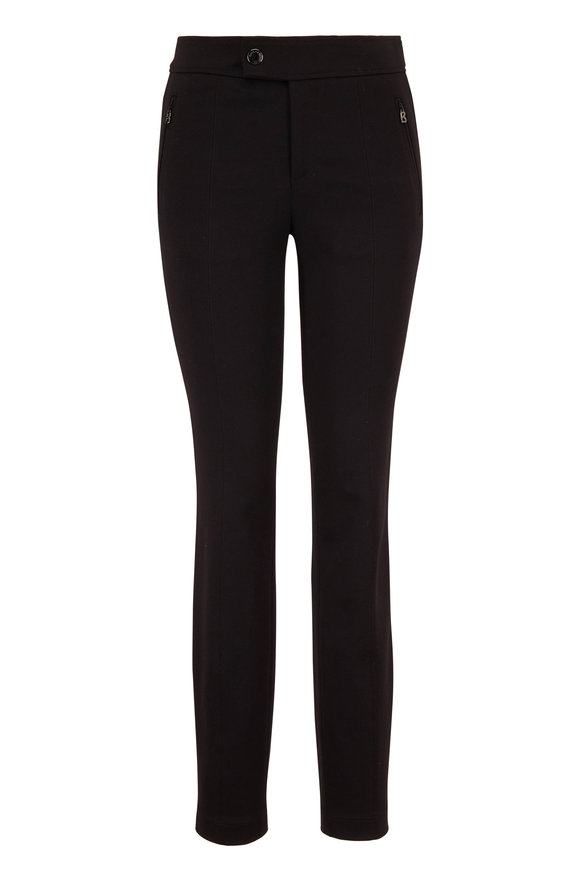 Bogner Linea Jersey Zip Pocket Straight Leg Pant