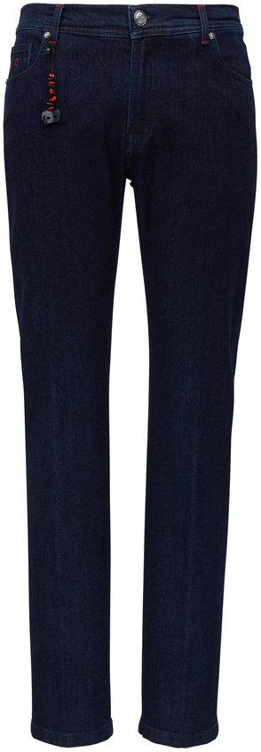 Marco Pescarolo Dark Wash Jean