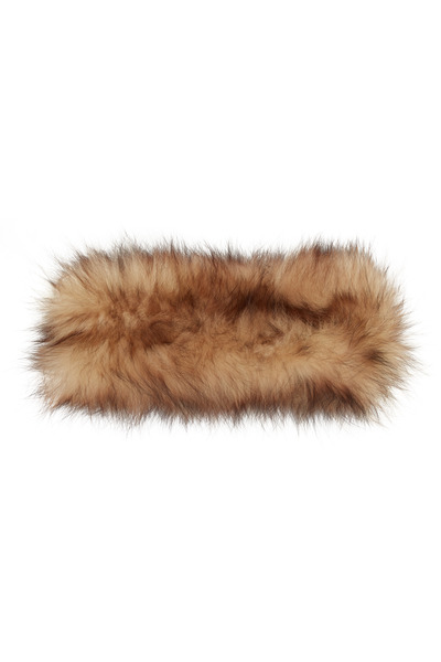 Viktoria Stass - Golden Sable Fox Fur Headband