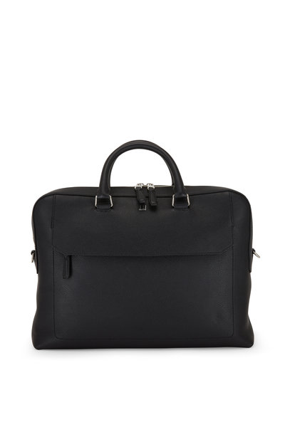 Dunhill - Belgrave Leather Single Document Briefcase