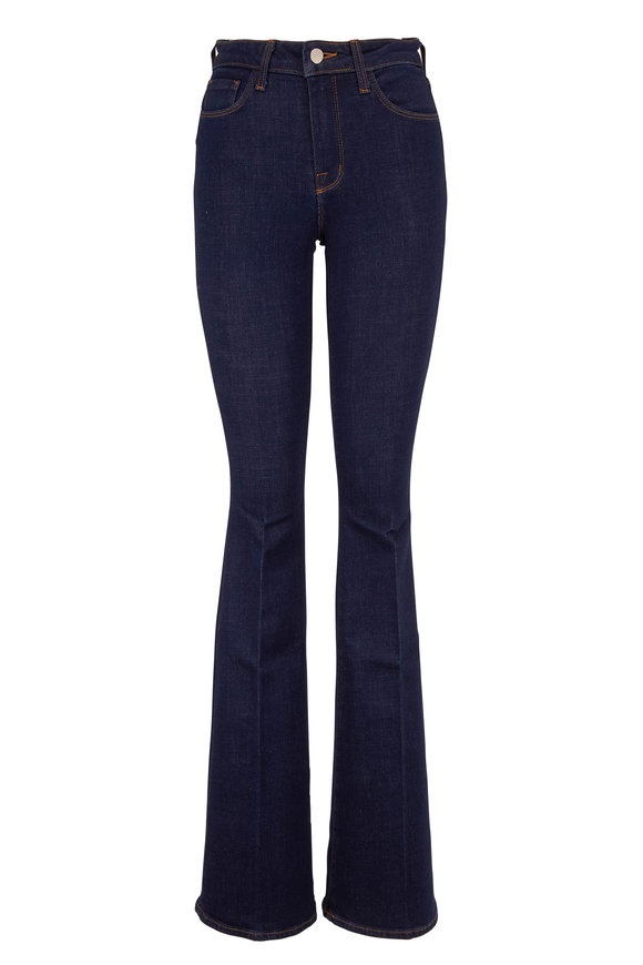 L'Agence Bell Phoenix High-Rise Flare Jean