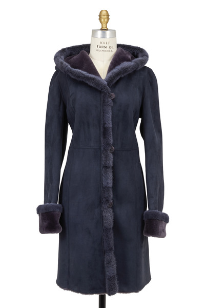 Viktoria Stass - Winter Mist Mink Fur Coat
