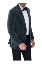 Tom Ford - Black Satin Pre-Tied Bowtie